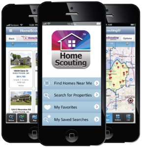 Download Homescout app