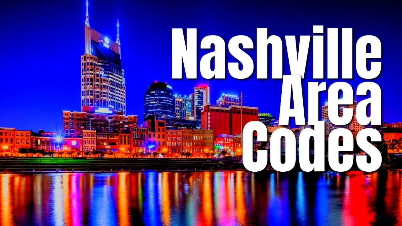 Nashville Area Codes